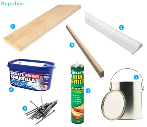 Door Supply by The Painted Hive How To Add Decorative Trim To Door Frames