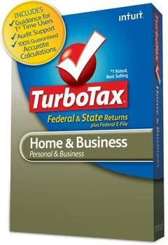 turbotax home and business fed efile state 2012 mac