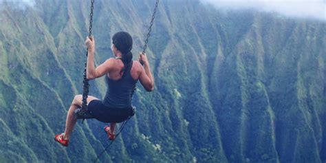 swingging heaven swing on hawaii s illegal stairway to heaven business