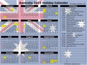 Australian Calendar Template 2015 by Calendar 2016 With Holidays Calendar