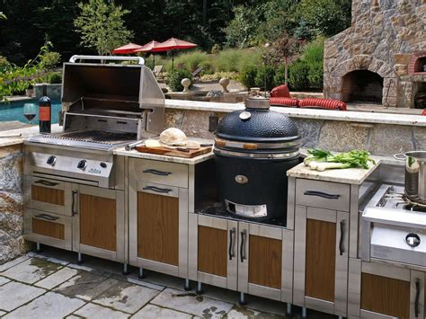 outside kitchens ideas modern outdoor kitchen interiordecodir