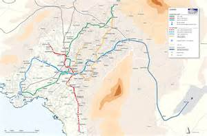 us map athens greece rail map