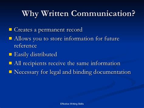 what to write in communication skills in a resume writing skills written communication