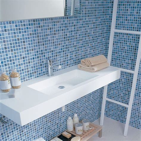 mosaic tiles bathroom ideas interiordecodir com 30 stunning pictures of glass mosaic tile for bathroom walls
