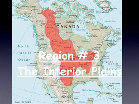Where Is The Interior Plains Located In Canada by U S Geography Wiki