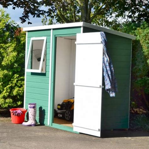 6x4 Garden Sheds For Sale by Shire Shiplap Pent Shed 6x4 Garden