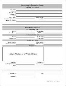 Free Employee Information Sheet Template by Employee Form Employee Personal Details Update Form