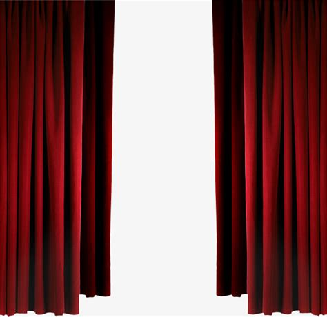 Hanging Christmas Tree by Red Curtains Curtain Long Curtain Hanging Up Curtains