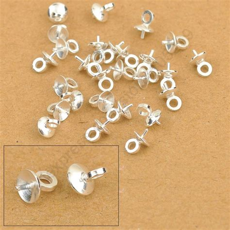 jewelry supply wholesale jexxi 5mm wholesale 100pcs diy jewelry findings 925