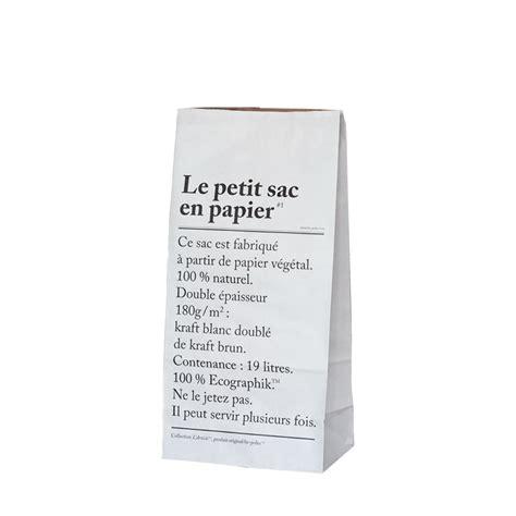 papier le leo le petit sac en papier the small paper