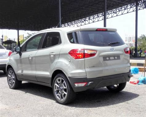 Spare Part Ecosport more images 2015 ford ecosport facelift spotted in india