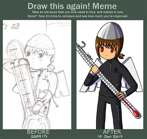 Draw This Again Meme - finish that sketch already by technikos43 on deviantart