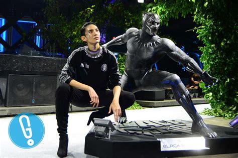 Tshirt Black Panther Hitam seniman indonesia rilis batik gaya baru bertemakan black