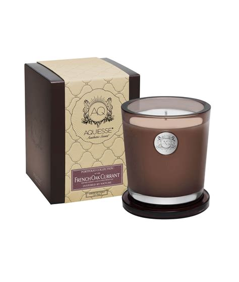 Candle Gifts Oak Currant Large Soy Candle Gift Box