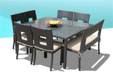 square patio dining table seats 8 square 8 seater dining