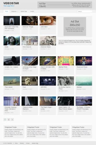 cost    video site  wordpress videostar