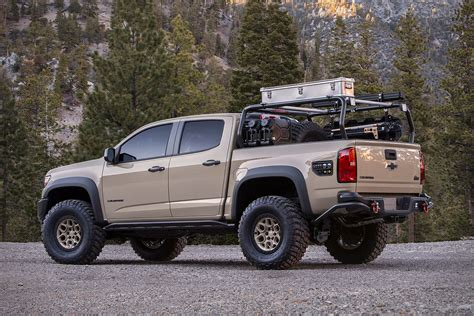 Colorado Zr2 Concept by Chevrolet Colorado Zr2 Aev Concept Truck Uncrate