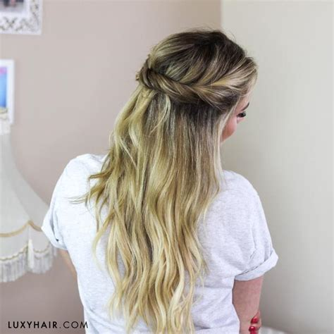 back to school hairstyles luxy hair 10 super easy back to school hairstyles luxy hair