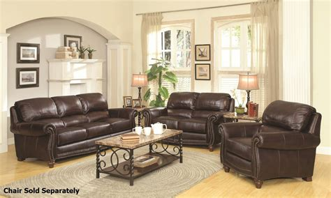 brown sofa and loveseat sets lockhart brown leather sofa and loveseat set a