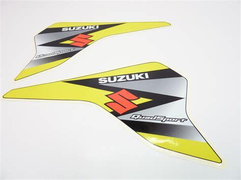 Suzuki Lt80 Decals Neu Aufkleber Benzintank Suzuki Lt 80 Quadsport Decal