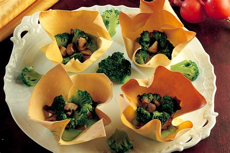 besciamella pronta per cucinare ricetta fazzoletti di sfoglia con verdure e besciamella