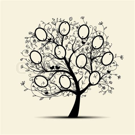 tree rubber sts family tree template family tree template a4