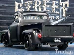 Ford F100 1955 Ford F100 20 Inch Rims Truckin Magazine
