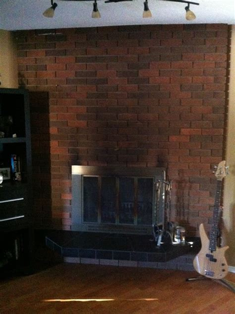 How To White Wash A Fireplace by Thinking About Whitewashing Brick Fireplace
