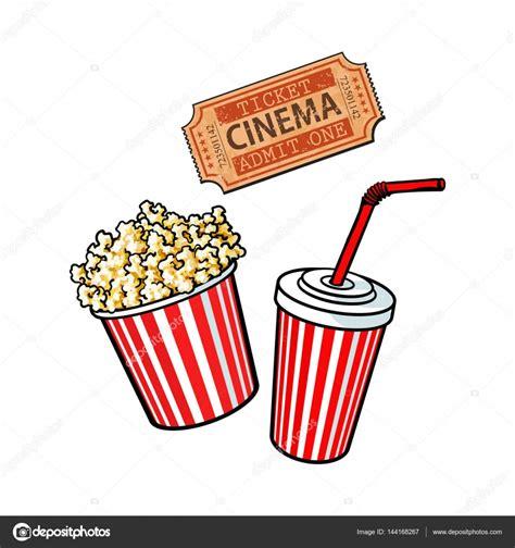 cine aqua entradas objetos de cine cubo de palomitas de ma 237 z agua de soda