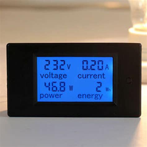 Ac Sharp 260 Watt aliexpress buy ac 80 260v lcd digital 100a volt watt