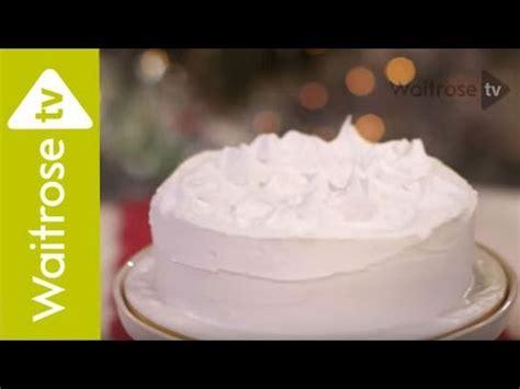 decorate  christmas cake  royal icing waitrose youtube