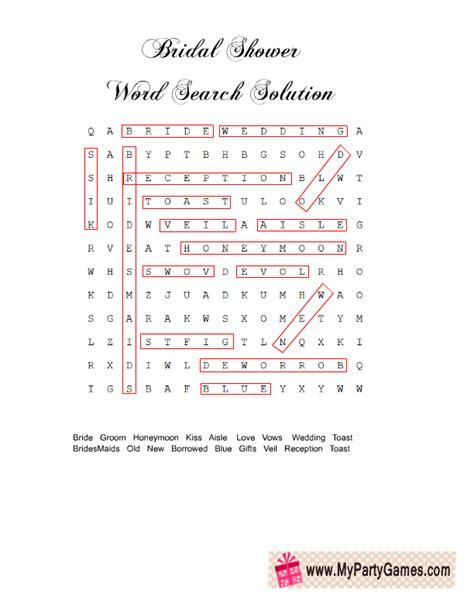 printable wedding word search games free printable wedding word search game