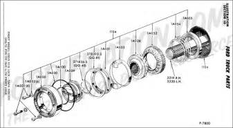 14 best images of ford 4x4 locking hub parts diagram