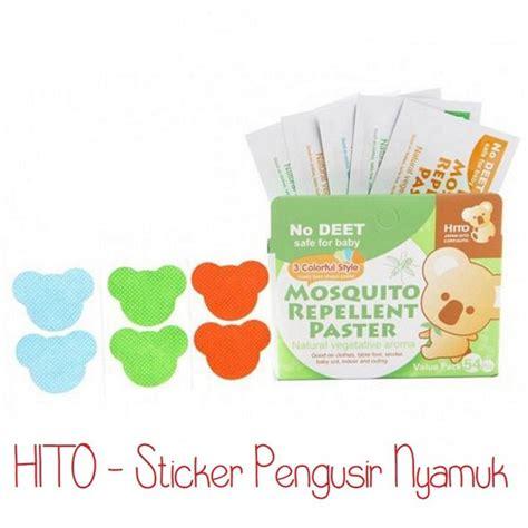 Baby Flow Stiker Anti Nyamuk hito mosquito repellent paster sticker pengusir nyamuk bebas deet