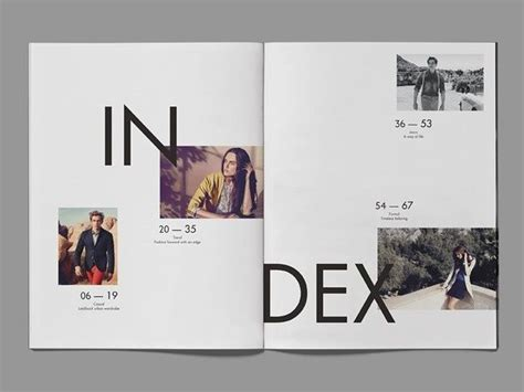 best layout design inspiration 25 best ideas about table of contents on pinterest