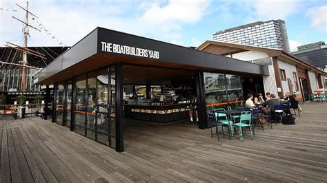 the boat builders yard informal joint with a great view herald sun