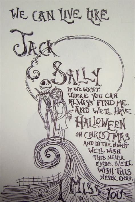 jack and sally things that i find interesting