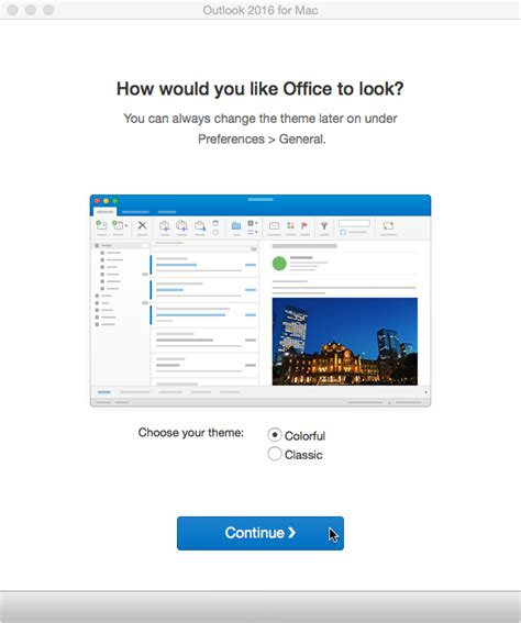 Office 365 Outlook Look And Feel Student Email And Calendar Configuring Outlook 2016 To