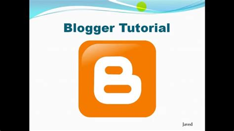 Blogspot Tutorial Bangla | blogger tutorial in bangla how to add description and