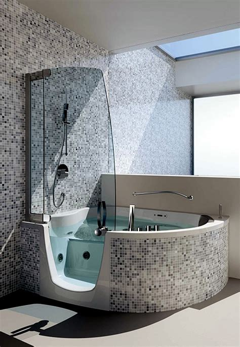 Gray And Yellow Kitchen Ideas Ergonomic Corner Bath With Shower And Whirlpool Function
