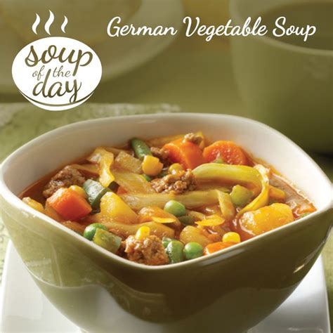 german vegetable soup recipe vegetable soups taste of