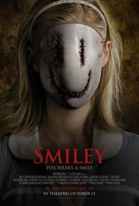 film horror gratis smiley official us poster movie posters pinterest