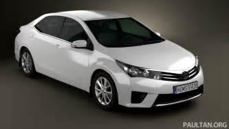 Toyota Atis Toyota Corolla Altis 2013 White