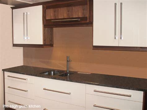 Walnut High Gloss Kitchen by Modern And High Gloss Kitchens Churchtown Kitchens Ltd