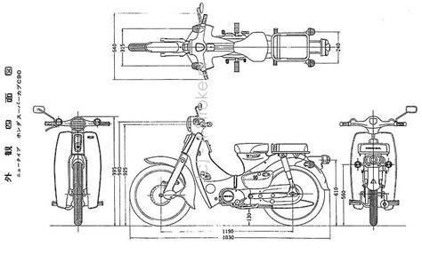100 honda c90 wiring diagram honda honda cl90