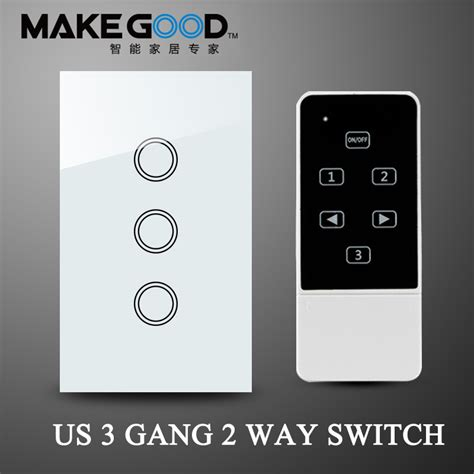 2015 new 3gang 2 way wall light switch