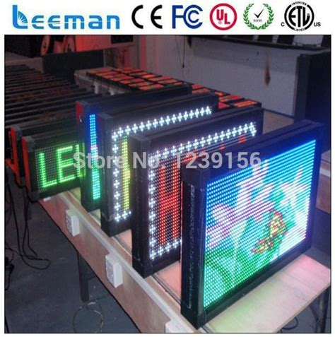 Sewa Led Display Indoor Outdoor programmable led message display panel board dmx indoor led scrolling text board p4 p4 75 p10
