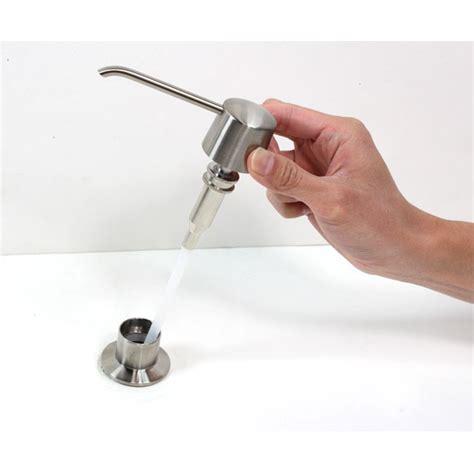 brushed nickel sink soap dispenser kitchen bar sink soap dispenser in brushed nickel finish