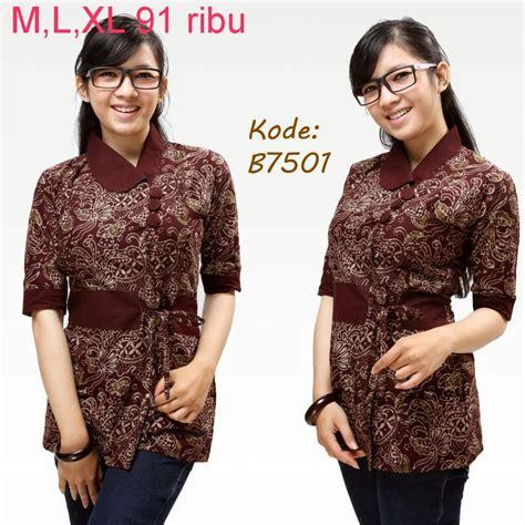 Busana Kantor Batik Larasati 22 model baju newhairstylesformen2014
