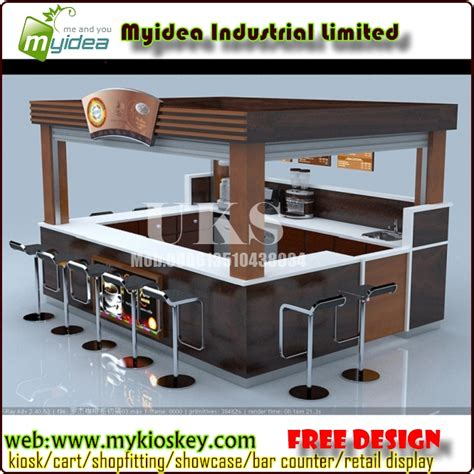 Cabinet Shopping by Coffee Kiosk Design Wooden Cabinet Design For Shopping Mall